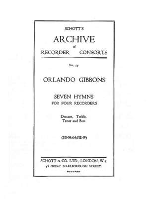 Gibbons, O: 7 Hymns