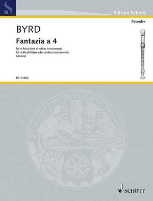 Byrd, W: Fantazia a 4