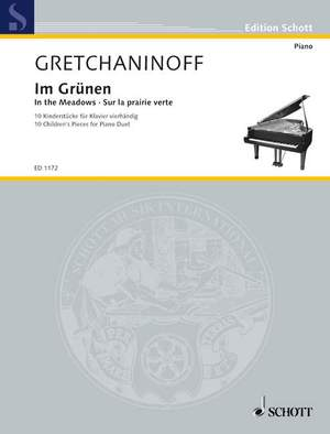 Gretchaninow, A: In the Meadows op. 99