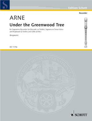 Arne, T A: Under the Greenwood Tree