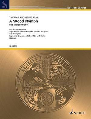 Arne, T A: A Wood Nymph