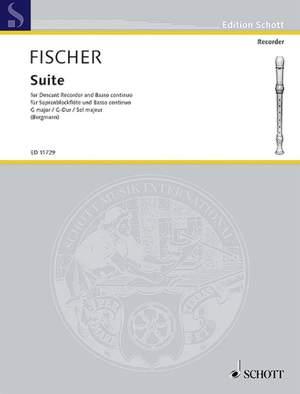 Fischer, J: Suite in G Major