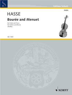 Hasse, J A: Bourrée and Menuet