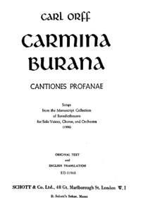 Orff, C: Carmina Burana