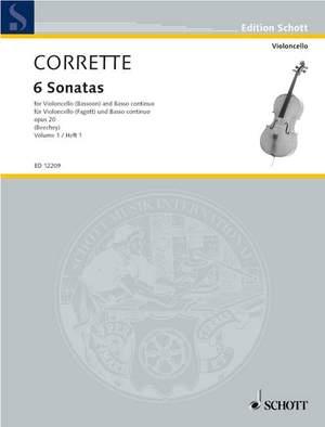 Corrette, M: Les Délices de la Solitude op. 20 Vol. 1