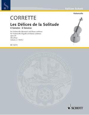 Corrette, M: Les Délices de la Solitude op. 20 Vol. 2