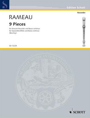 Rameau, J: 9 Pieces