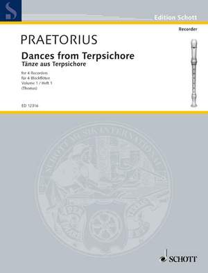 Praetorius, M: Dances from Terpsichore Band 1 Product Image