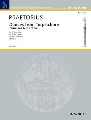 Praetorius, M: Dances from Terpsichore Band 2 Product Image