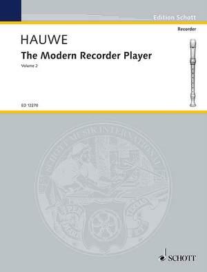 Hauwe, W v: The Modern Recorder Player Vol. 2