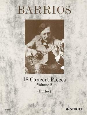 Barrios Mangore, A: 18 Concert Pieces Vol. 2 Product Image