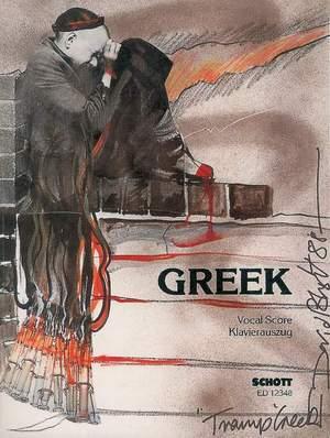 Turnage, M: Greek