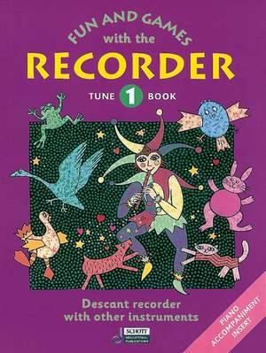 Fun and Games with the Recorder Tune Book 1