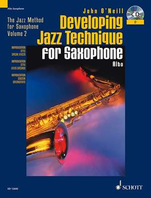 O'Neill, J: Developing Jazz Technique for Saxophone