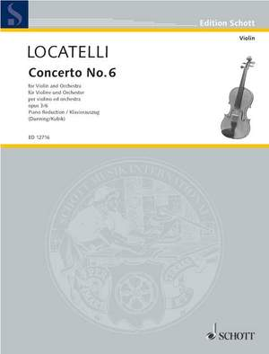 Locatelli, P A: Concerto op. 3