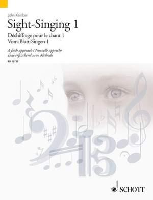 Kember, J: Sight-Singing 1 Vol. 1