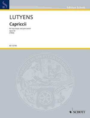 Lutyens, E: Capriccii op. 32