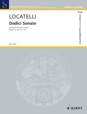 Locatelli, P A: Dodici Sonate op. 2/7-12 Vol. 2