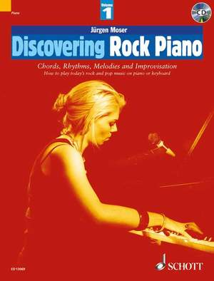 Discovering Rock Piano Volume 1