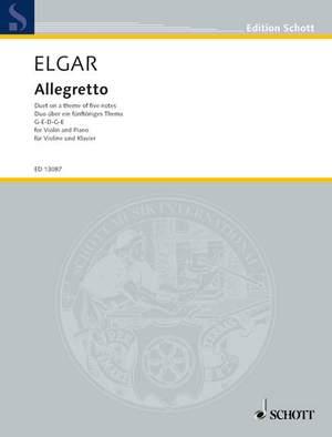 Elgar, E: Allegretto