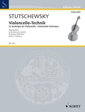 Stutschewsky, J: Violoncello Technique Band 2