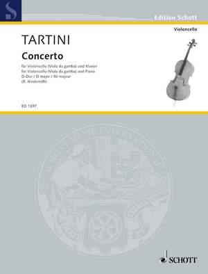 Tartini, G: Concerto D Major Product Image