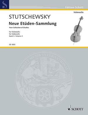 Stutschewsky, J: New Collection of Studies Band 3