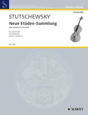 Stutschewsky, J: New Collection of Studies Band 4
