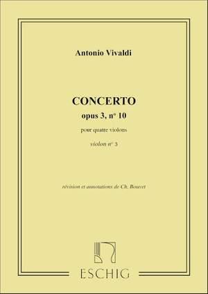 Vivaldi, A: Concerto in Bm op. 3 no.10