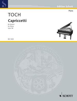 Toch, E: Capriccetti op. 36