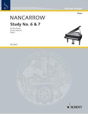 Nancarrow, C: Studies No. 6 & 7 Product Image