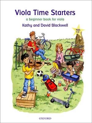 Blackwell, Kathy: Viola Time Starters + CD