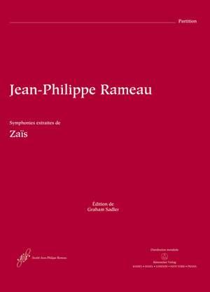 Rameau, J: Zais Symphonies (Instrumental Extracts) (Urtext)