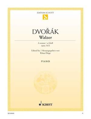 Dvorák, A: Waltz A minor op. 54/2