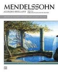 Felix Mendelssohn: Allegro brillant