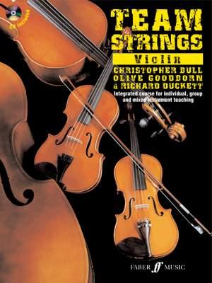 Duckett_Bull: Team Strings. Violin