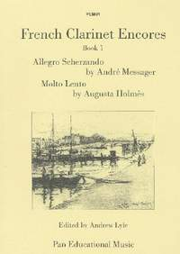 Holmes: French Clarinet Encores Book 1