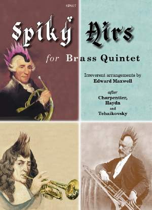 Maxwell: Spiky Airs for Brass Quintet (Score & Parts)