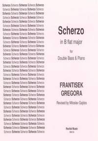 Gregora: Scherzo in B flat major
