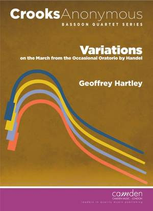Hartley: Variations on the March from the Occasional Oratorio