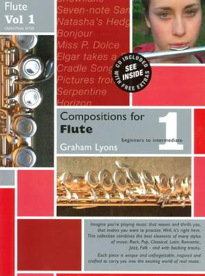 Lyons: Compositions for Flute Volume 1 With CD