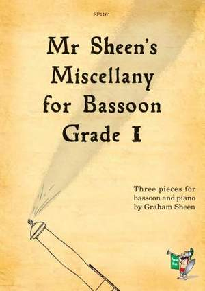 Sheen: Mr Sheen's Miscellany for Bassoon - Grade 1