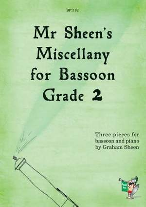 Sheen: Mr Sheen's Miscellany for Bassoon - Grade 2