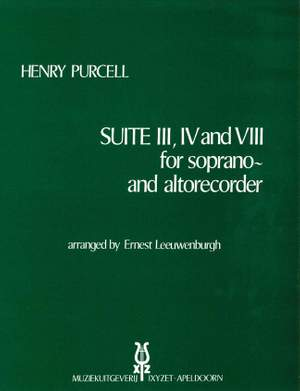 Purcell: Suite III, IV en VIII