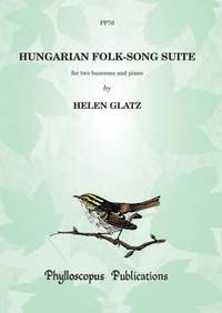 Glatz: Hungarian Folk Song Suite - Piano score and part