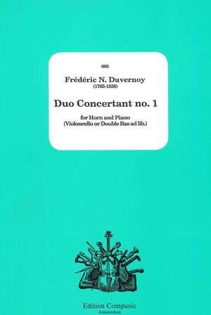 Duvernoy: Duo Concertant no. 1