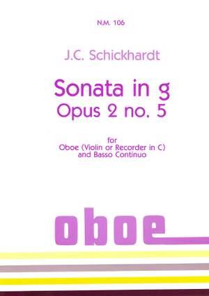 Schickhardt: Sonata in G minor