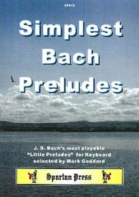 Bach: Simplest Bach Preludes