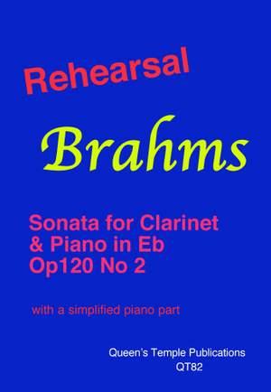 Brahms: Rehearsal Brahms: Clarinet Sonata in Eb