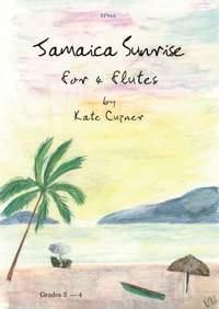 Cuzner: Jamaica Sunrise for 4 flutes